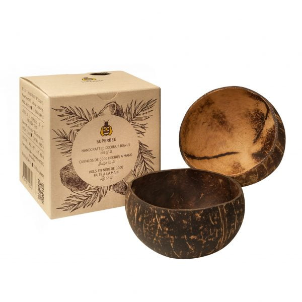 Coconut bowls and box