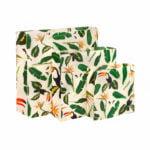 Waxed Food Bags Set - Jungle