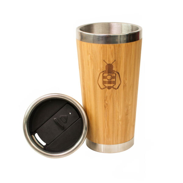 Reusbale Bamboo Cup with Lid