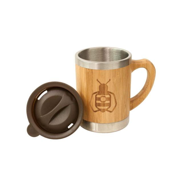 Bamboo Coffee Mug with Lid