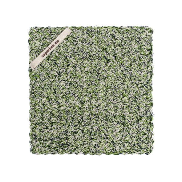 Green dishcloth colour 2