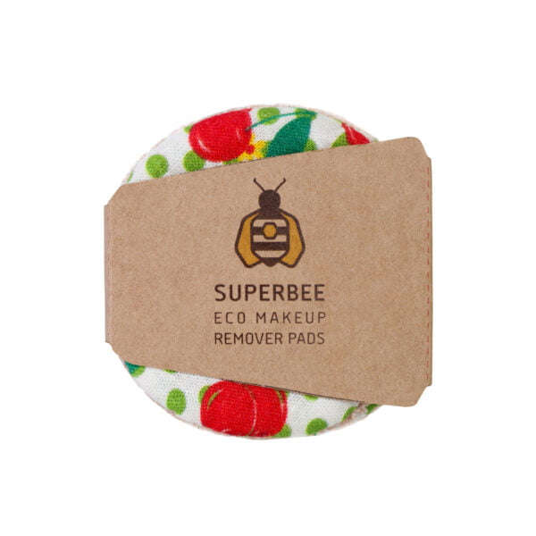 SuperBee Eco Makup Remover Pads Cherry Popper