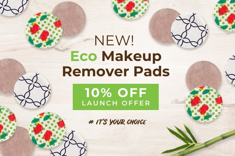 New Eco Makeup Remover Pads 10% off